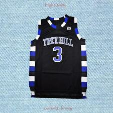 One Tree Hill Lucas Scott 3 Ravens Basketball Jersey Black