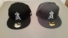 new MLB Anaheim Angels fitted baseball cap hat.      retail  31.99