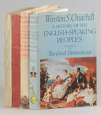Winston S. Churchill - A History of the English-Speaking Peoples, proof copies