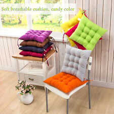 Square Chair Cushion Tie On Seat Pads Office Garden Patio Dining Room Home Decor