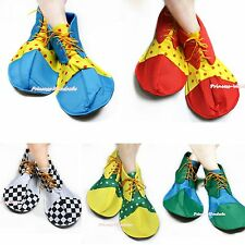 Halloween Cosplay Party Colorful Extra Large Jumbo Clown Costume Shoes Unisex