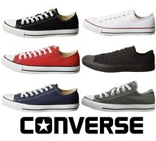 Converse All Star Chuck Taylor Canvas Shoes Low Top All Size UNISEX New!