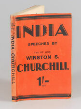 Winston S. Churchill - India, first British edition, first printing, wraps
