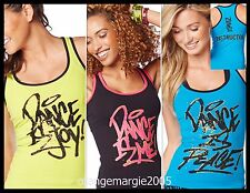 ZUMBA INSTRUCTOR RacerBack Top Tank Metallics-Dance is-Convention-3Colors-S M L