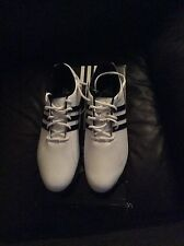 Adidas Golflite 4 NWP WD UK 9 Wide Fit White & Black Brand New Golf Shoes