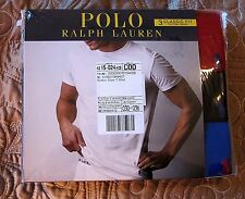 Polo Ralph Lauren 3 Pack Cotton Crew Neck T-Shirt -Classic Fit- Size M