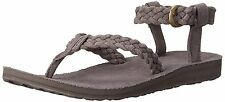Teva Women's Original Suede Braided Ankle-Strap Sandal NWB NEW MSRP $80