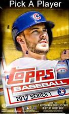 2017 Topps Baseball Series 1 Pick a Player 176-350 Finish Your Set!