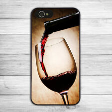Vintage Elegant Red Wine Glass Hard Phone Case Cover for iPhone 5s 6s 6 5 7 Plus