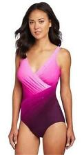 MIRACLESUIT OCEANUS PINK 2 PIECE SET SWIMSUIT & MATCHING PAREO SARONG SWIMWEAR