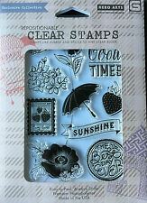 Hero Arts Clear Stamps Repositionable Easy Peel, Premium Photo-Polymer Sticky