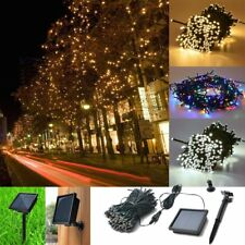 200 LED Solar Powered Fairy String Lights Garden Christmas Party Lamp LOT NW