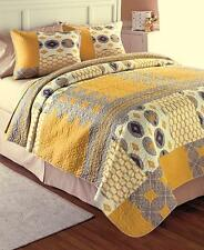 3-Pc Printed WILLIAMSBURG Quilt Shams~Queen/Full or King Size Home Bedroom Decor