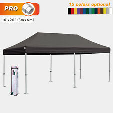 Eurmax Pop Up Tent Pro 3x6m Commercial Gazebo Instant Aluminum Party Marquee