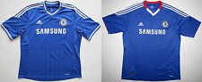 Chelsea FC London 2010/11 2013/14 jersey shirt camiseta maillot soccer Adidas XL