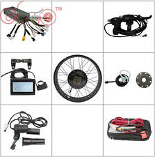 36V 48V 500W Fat Tire eBike Front or Rear Motor Wheel Conversion Kit Controller