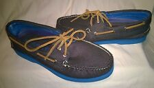 Brand New Sperry Top-Sider Mens A/O 2 Eye Soft Canvas Black Boat Shoe!!