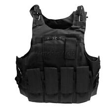 Tactical Military Vest Molle Plate Carrier Detachable Airsoft Combat Vest