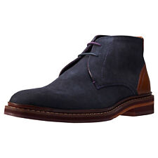 Ted Baker Azzlan Mens Chukka Boots Grey Tan New Shoes