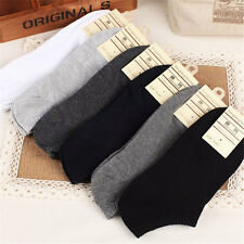 5 Pairs New Men Casual Sports Socks Crew Ankle Low Cut Cotton Socks 9-12 Hotest