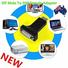 DP Display Port Male to HDMI/DVI 24+5 Female Converter Adapter For Laptop ZP