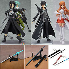 SAO Sword Art Online Sinon Asuna Kirito PVC Action Figure Toys Collection Statue
