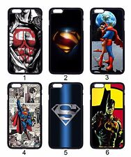 Superman Pattern Steel Wonder Woman For Apple iPhone iPod & Samsung Galaxy Case