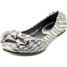 New Girls Youth Sarah Jayne Cindy Shoes Style 01124091 Pewter rt
