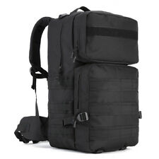 Sports High Capacity Backpack Outdoor 55L Nylon MOLLE Tactics Assault Pack