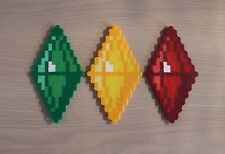 Plumbob Art Sprites from the Sims Video Game Series