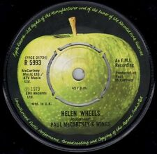 "Paul McCartney And Wings*-Helen Wheels 7"" 45-Apple Records, R 5993, 1973, Plain"