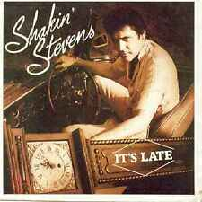 """Shakin Stevens-It's Late 7"""" 45-Epic, A 3565, 1983, Picture Sleeve"""