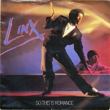 """Linx-So This Is Romance 7"""" 45-CHRYSALIS, CHS 2546, 1981, Picture Sleeve"""