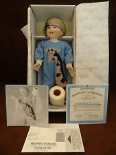 ASHTON DRAKE GALLERIES CATCH ME IF YOU CAN HAND PAINTED PORCELAIN DOLL NIB COA