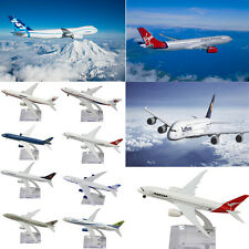 Popular Lots Metal Scale Plane Model Aircraft National Airlines Gift Decor 16CM