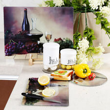 Heat resistant Tempered Glass Cutting Chopping Board Kitchen  Chef Glass Board