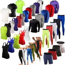 Sports Compression Base Layers Tops Tight T-Shirt/Vests/Pants Shorts Gym Outfits