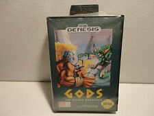 GODS  for the Sega Genesis system Very Rare game  BRAND NEW Factory Sealed