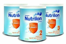 Nutrilon Baby Formula  Infant Formulas Step (1 -2-3)  28 oz /800 g In Each