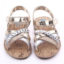 Infant Girl Princess Summer PU Sandals Baby Toddler Kid Soft Sole Shoes 0-12M