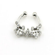 Puncture Septum Nose Nails Piercing Pierced New Septum Nose Jewelry Clip Nose