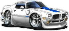 1970 Pontiac Trans Am 455 SD Muscle Car Decal Wall Graphic Corhole NEW FREE SHIP