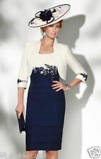 Plus Size 6-30 Free Jacket Mother of the Bride Suit Outfit Wedding Mother Dress