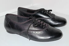 Clarks Girls Shoes NO OXFORD Black Leather Brogue Style School Various  Sizes