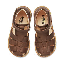 SALE Angulus Boys Sandal with closed toe in Soft Cognac Kids Sizes RRP £69.95