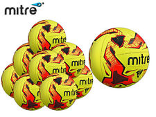 *BRAND NEW* 10 x MITRE - TACTIC TRAINING FOOTBALL - FLUO/BLACK/RED - S 3 4 & 5