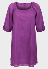 Ex Next Ladies Tunic Lace Trim Cotton Dress sizes 12 or 16 Brand New Holiday