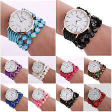 Vintage Crystal Luxury Womens Quartz Bracelet Watch Dress Diamond Wrist Watches