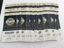 2009 New York Yankees Full Tickets YOU PICK ONE GAME Derek Jeter Mariano 2 of 2