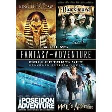 Curse of King Tut Poseidon Adventure Merlin's Apprentice Blackbeard 2008 2 DVD